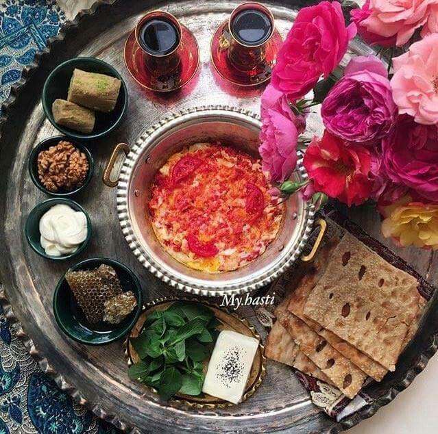 #Iranian #morning #feast  realiran.org