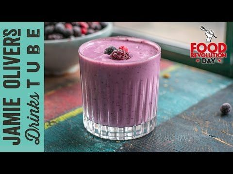 Fabulous Frozen Fruit Smoothie | Becky Sheeran | #FoodRevolutionDay - YouTube