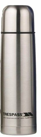Trespass Thirst 50 - 500Ml Stainless Steel Flask Silver