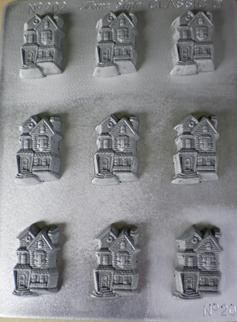 You are going to love this crazy houses chocolate mould - We can teach you how to make your own crazy houses using this awesome NZ made chocolate mould.