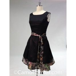 <p>This camo formal can be worn as an informal wedding gown, prom, homecoming or any other special occasion.</p>