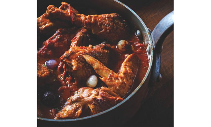 John Besh's Chicken Fricassee #recipe