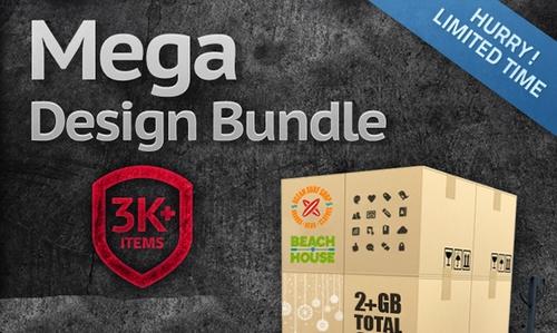 Get Stack Up on Thousands of High Quality Design Resources for Only $49! - The Mega Design Bundle (95% off)
