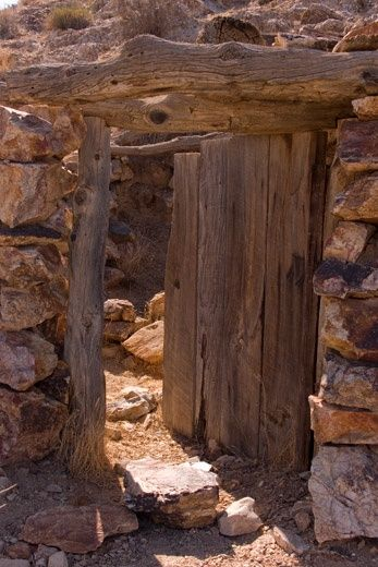 Door to Abandoned Mine in Death Valley  Photo by Jack Starr