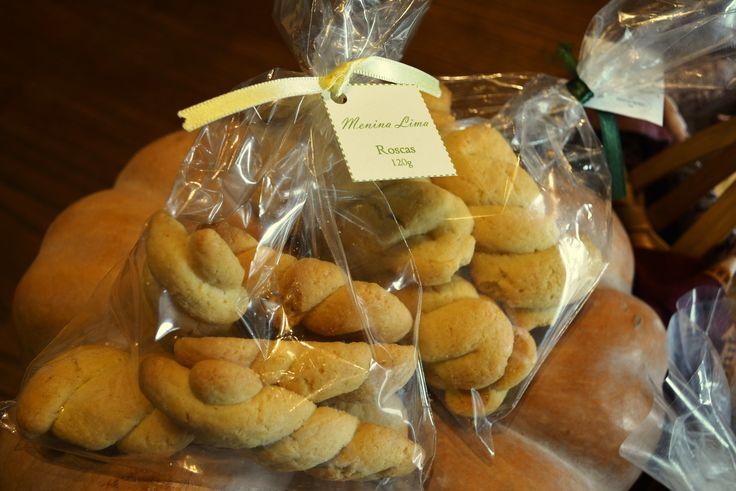 Menina Lima: Roscas / Braid biscuit