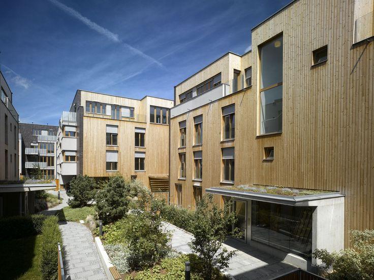 Housing Vackov by UNIT architekti.   Social concept enhancing the creation of neighborhood communities