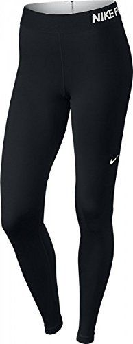 Nike Pro Women's Training Tights The Nike Pro Dri-Fit Tight has the following features:This Nike Pro Dri-Fit tight for women is a tight long pant that wears comfortably. The running tight is made with the Dri-Fit technology and Stay cool because of which the transpiration is quickly transported from the body and you keep feeling dry and cool. Specifications: Nike Pro tight for women Dri-Fit Elastic waistband Material: 80% polyester – 20% elastane Colour: blackDri-FIT f