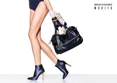black lether bag