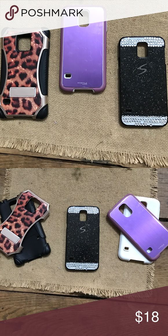 Galaxy 5 phone cases 3 galaxy 5 cases,good condition, smoke free home Accessories Phone Cases