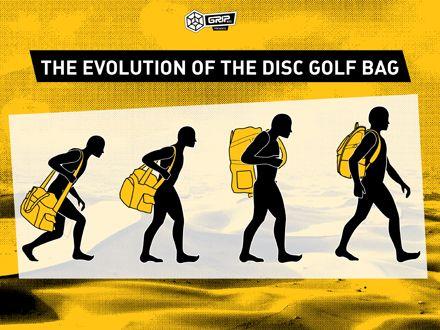 Grip Equipment Disc Golf | Evolution of the Disc Golf Bag