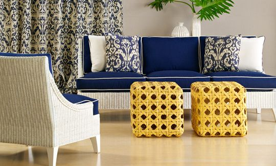 Navy and yellow/porch inspiration