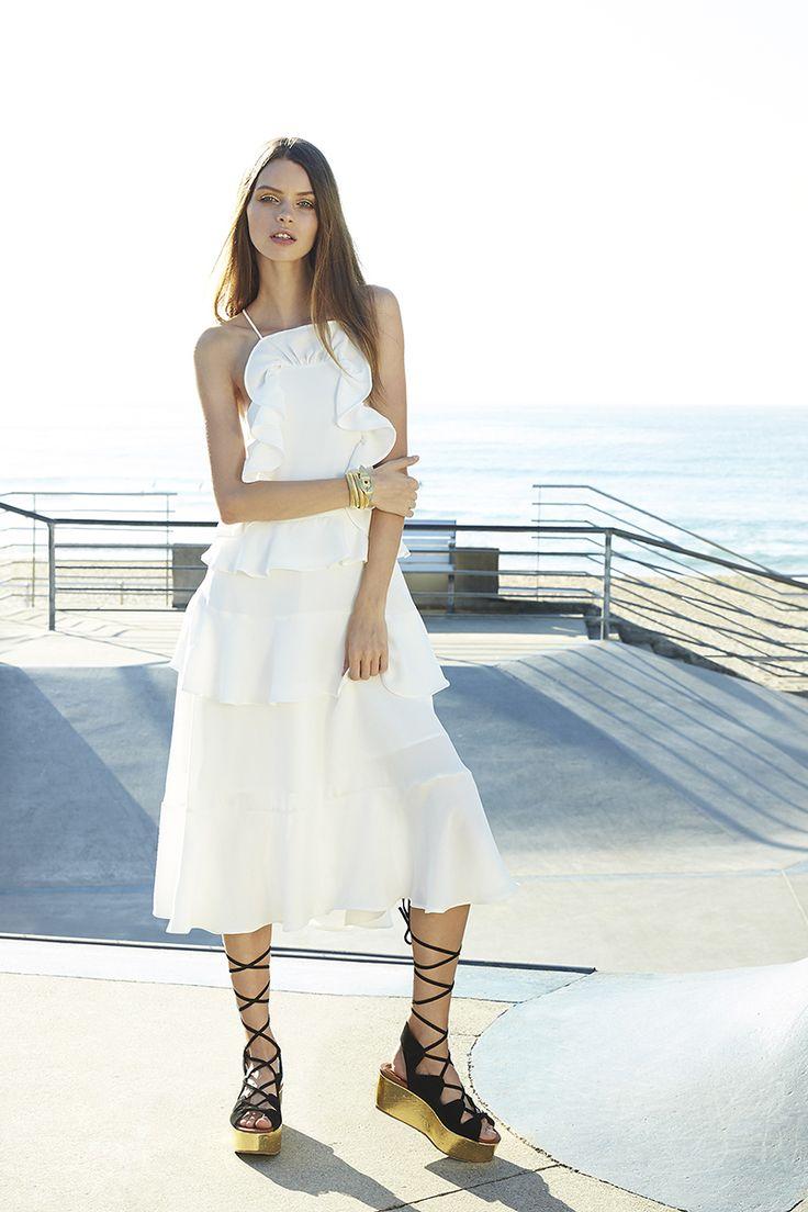 ISLA Revolve Midi Dress