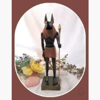 """""""Opener of the Way"""" Anubis Statue"""