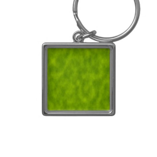 Green Mist/Haze/Fog-Like Abstract Pattern Keychain