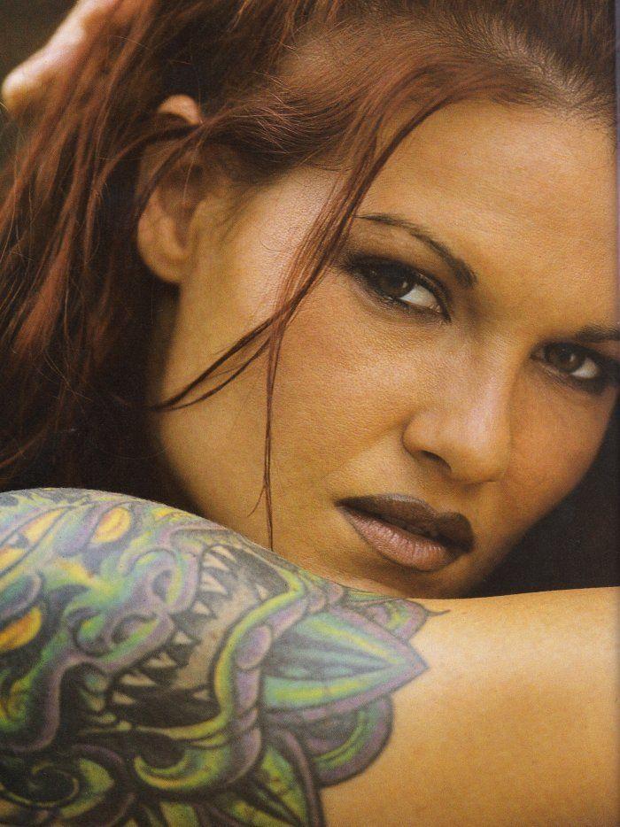 Amy Dumas Lita WWF Attitude Era