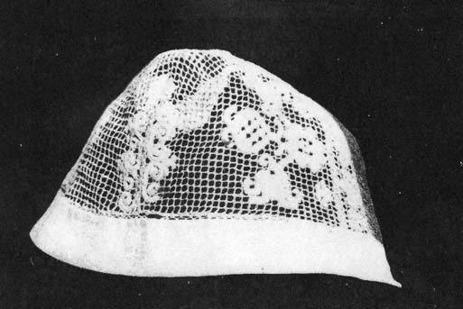 Rececsipke főkötő (Sárköz, Tolna m., 18. sz.) Bp. Néprajzi Múzeum - Hungary