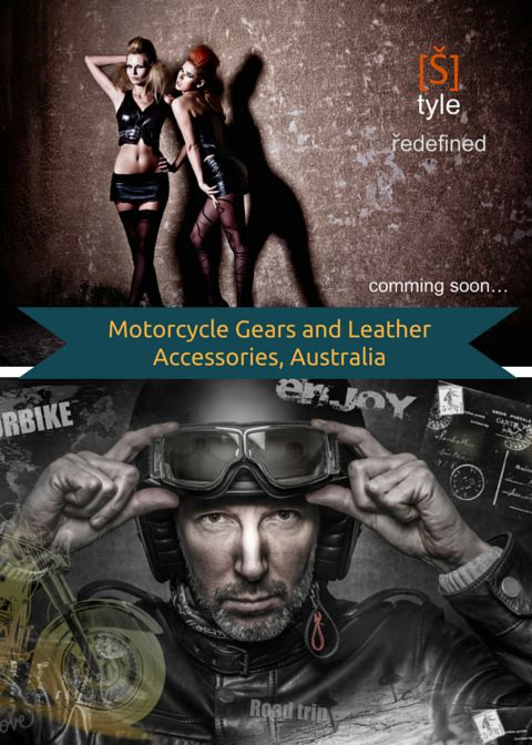 Motorcycle Gears and Leather Accessories is an Australian based company that specializes in the design and manufacturing of top quality leather clothing ranging from specialized motorbike leather gear to fashion leather and accessories. What is unique about our products is that they are bespoke - made to individual customer's specifications ensuring best fitting.