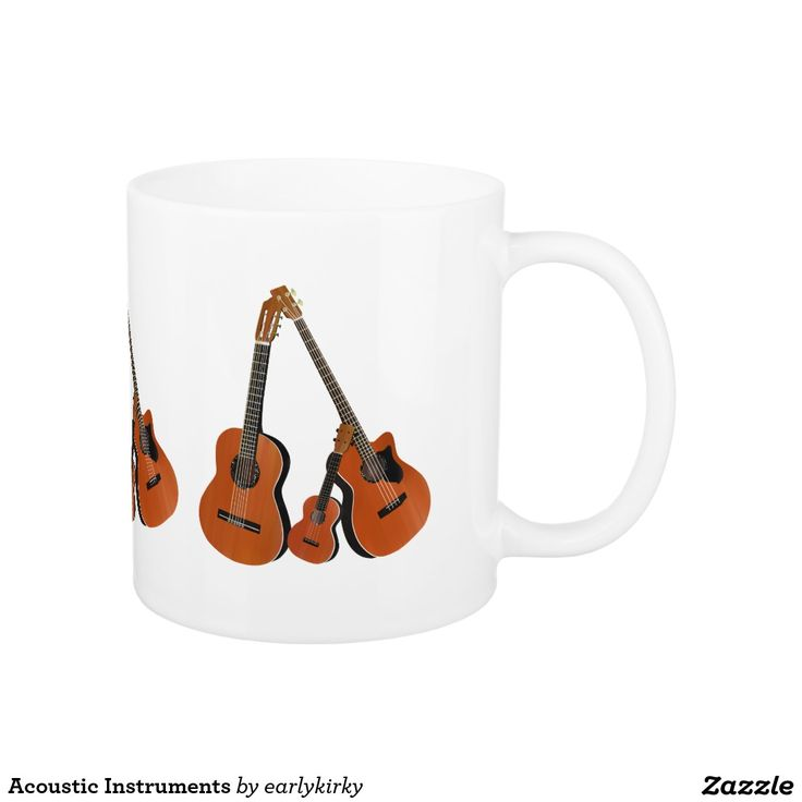 Acoustic Instruments Coffee Mug