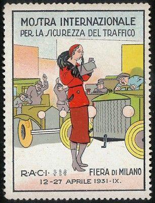 Mostra internazionale per la sicurezza del traffico, Milano 1931
