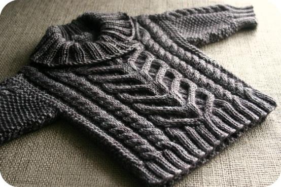baby fisherman sweater
