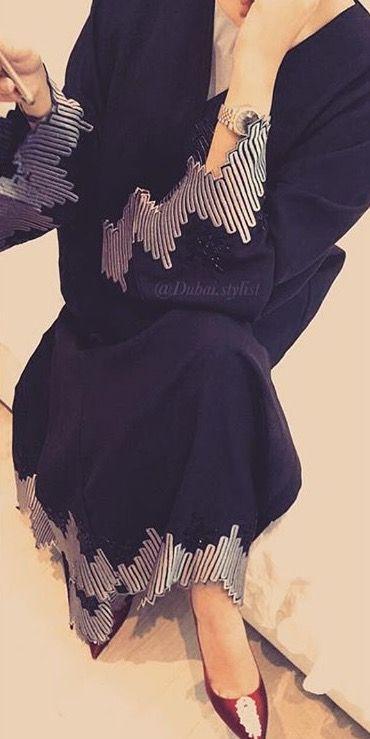 IG: Dubai.Stylist || IG: Beautiifulinblack || Modern Abaya Fashion ||