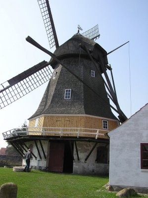I'd love to live in a windmill - Esbjerg, Denmark