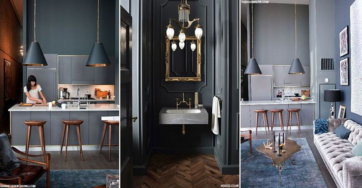 Interiors Trend: Dark Colours | sheerluxe.com