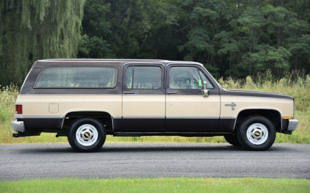 1985 Chevrolet Suburban Silverado Diesel 6 2l 80s Classics