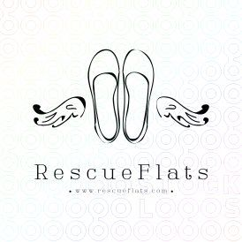 Submission for Rescue Flats contest logo