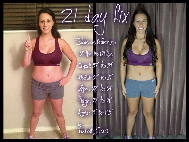 21 day workout system that includes a simple eating plan that helps with portion control and tells you exactly what you need to eat - AND you can lose 10+ pounds in 21 days! More at kerihayesfitness.com