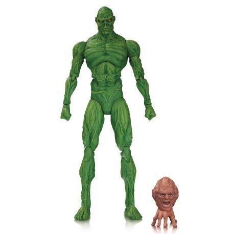 Figurine Swamp Thing de la mini-série Dark Genesis articulée taille env. 16 cm en emballage blister.