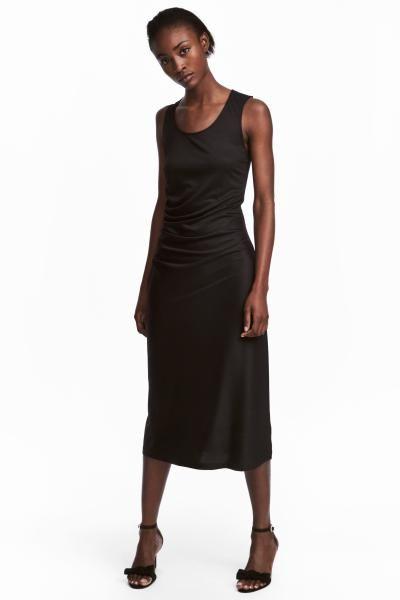 H&M Gedrapeerde jurk
