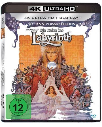 Die Reise ins Labyrinth - 4k Ultra HD Blu-ray Disc