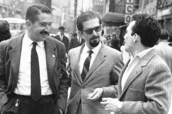Alvaro Mutis, Fernando Botero y Gabriel Garcia Marquez
