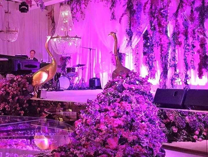 Royal events - Nuestra Lamparas en una Boda chino.http://www.royalevents.es