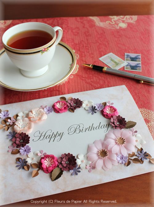 母の日のプレゼントにも・・お花紙カーネーションの額飾りの画像   ペーパーフラワー 〜紙の花〜