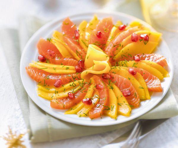 Voici la recette d'un plat très esthétique : celle de la rosace de sashimi de saumon à la mangue. Malgré sa belle présentation, ce mets est facile à préparer.