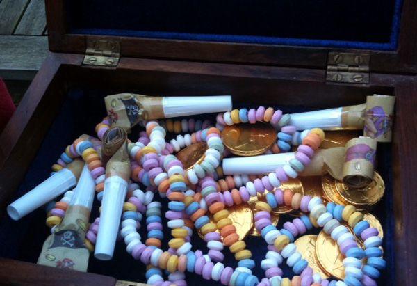 Le trésor de la chasse au trésor  http://www.monblogdemaman.com