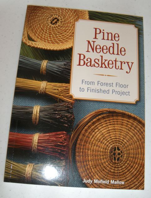 Well......once again, I'm indebted to another talented friend who gave up an entire day to teach me how to make a pine needle basket. I go...