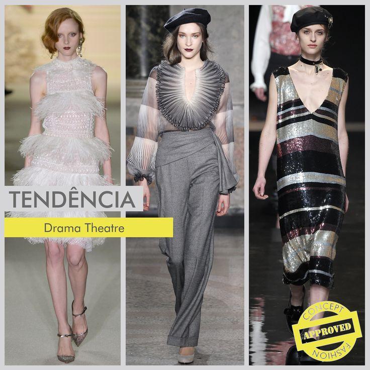 O Frenesi dos anos 20 está de volta! Marcado pelo início da Era de Ouro de Hollywood, o tema repleto de looks glamorosos e contemporâneos será um dos pontos altos para o próximo Inverno 2016. As peças trarão muitas franjas e plumas, que inspiradas na época, eram usadas para balançar ao som do Jazz e do Foxtrote, além do brilho e transparência que confere um toque glamoroso para os dias de hoje.  #fashion #moda #trends #tendências #concept  #inverno2016 #anos20  #paetê  #plumas #franjas…