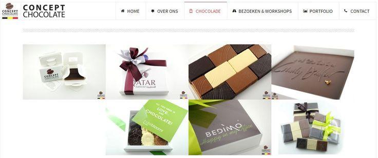 Concept Chocolate biedt gepersonaliseerde chocolade geschenken , Gepersonaliseerde chocolade met uw logo en Belgische chocolade relatiegeschenken . Wij bieden 100 % origineel en natuurlijke producten om uw speciaal momenten te maken .
