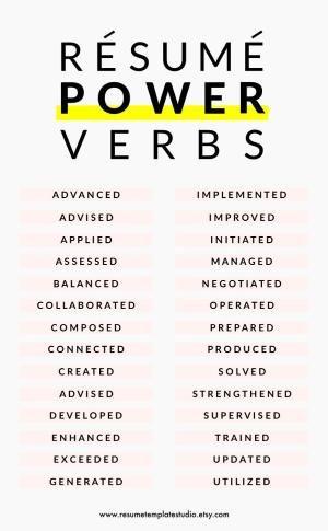 25+ legjobb ötlet a Pinteresten a következővel kapcsolatban - resume power words