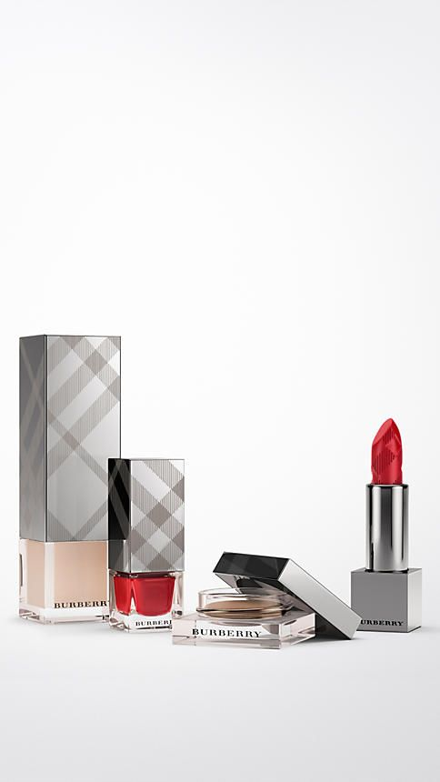 ilitary red Burberry Signature Look Nude Glow - Image 2