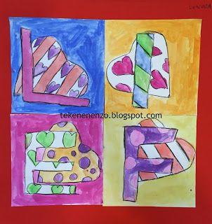 Tekenen en zo: in de stijl van beroemde kunstenaars