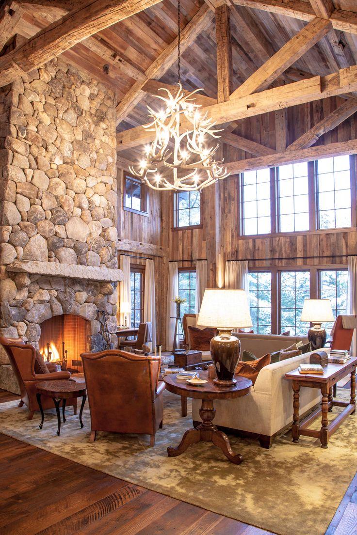 847 Best Log Timber Frame Rustic Homes Images On Pinterest