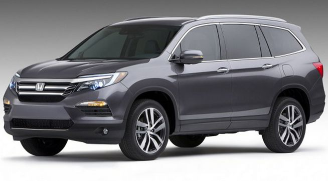 2016 Honda Pilot Third Generation, a Large 8-Seater SUV-