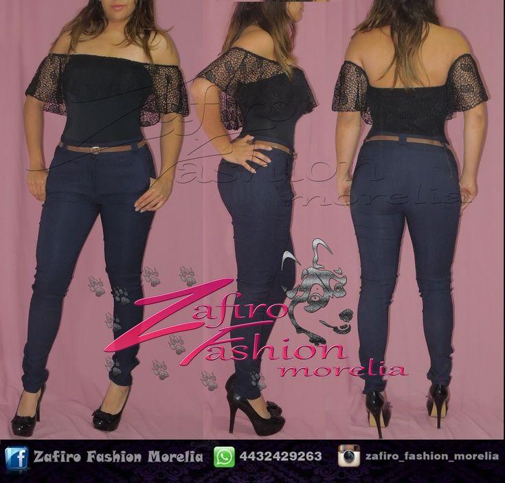 Traje de baño/ body con copa preformada Color: negro con Pantalon de vestir color azul marino encuentra este outfit y mas en ♥ facebook www.facebook.com/Zaf.girl/ ♥ Instagram en @zafiro_fashion_morelia ♥ Modelo instagram @stephy_viveros ♥ whats: 4432429263  #zafirofashionmorelia #ilovezafiro #Body #pantiblusa #Campesina #Encaje #Negro #PantalonDeVestir #Photography #ModaDeMujer #Femenina #Sexy #Coqueta #Sensual #Bonita #TaconNegro #morelia #uruapense #moda
