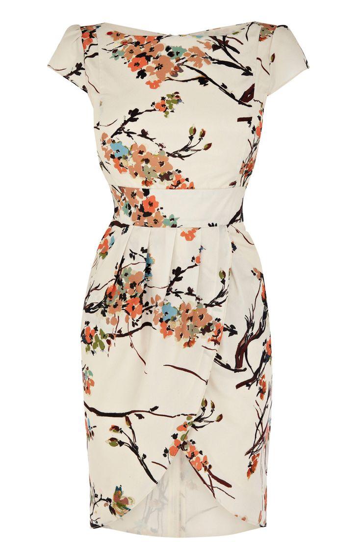 Luella Tulip Dress | Natural | Oasis Stores
