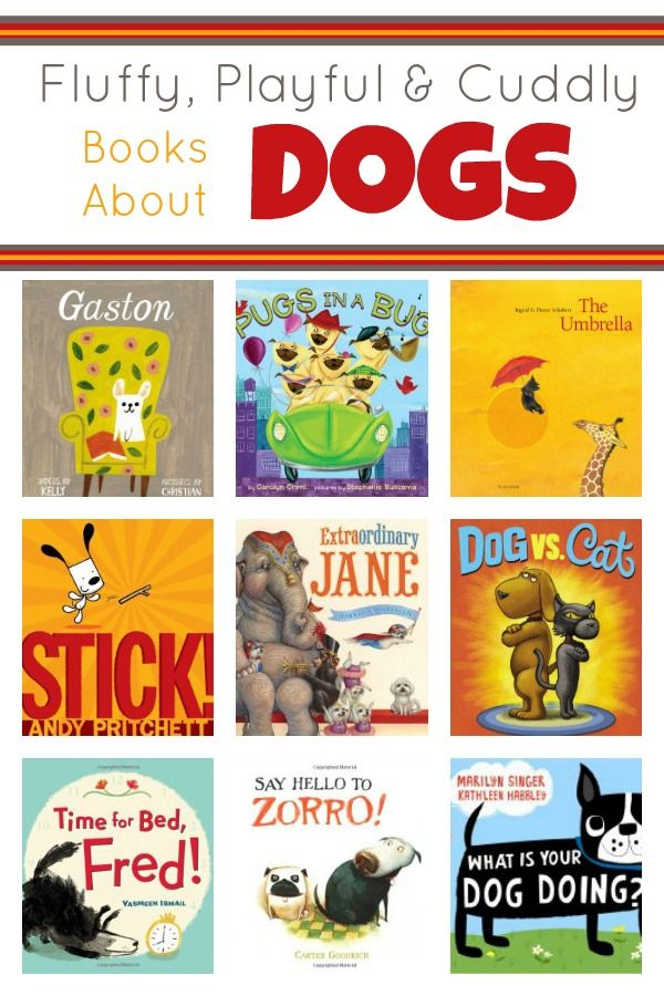 Fluffy, Playful and Cuddly Stories About Dogs~Click through to read summaries of our favorite dog books for kids