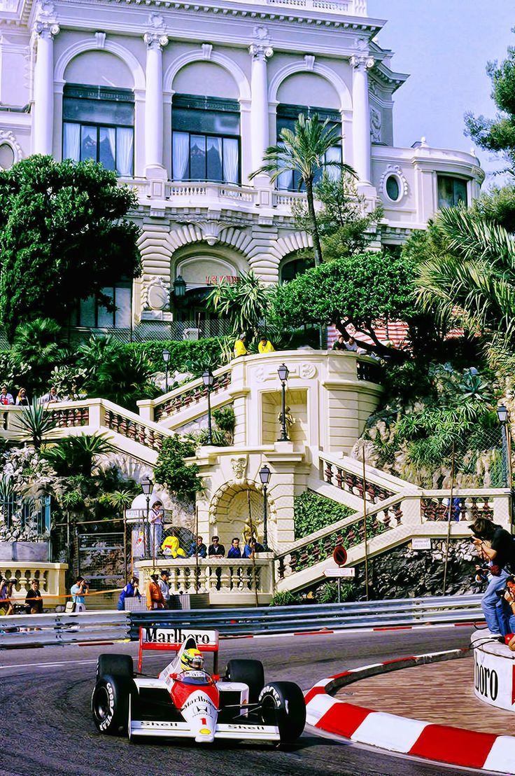 #1 #ayrtonsenna Mónaco 1989
